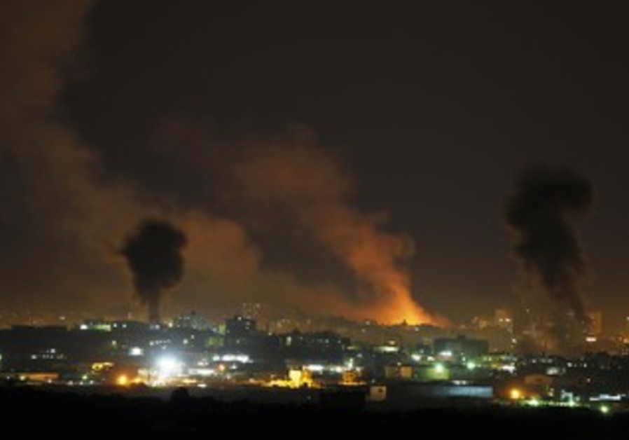 IAF strikes in Gaza