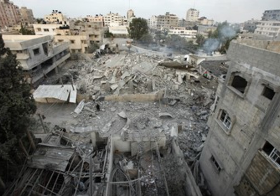 Hamas Headquarters bombed.