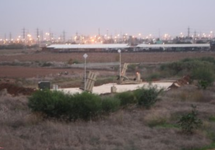 Two IDF Iron Dome batteries