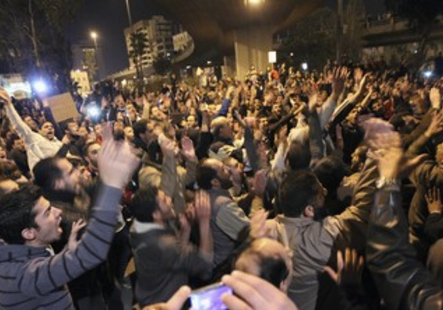 Protest in Jordan over gas prices.