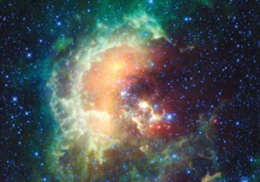 Tadpole Nebula 12,000 lightyears from Earth.