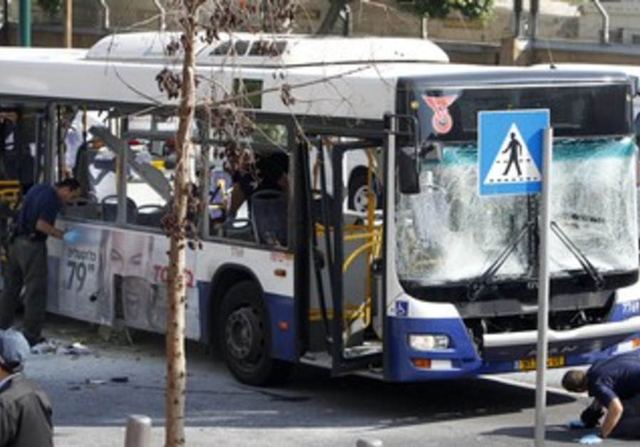 Tel Aviv terror attack on bus