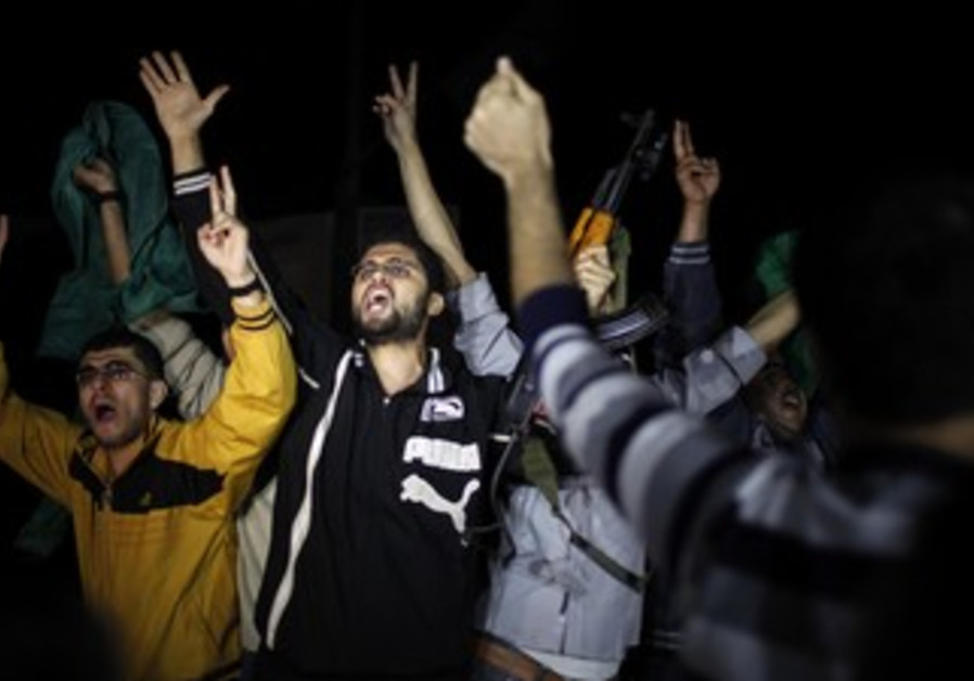 Gazans celebrate after cease-fire