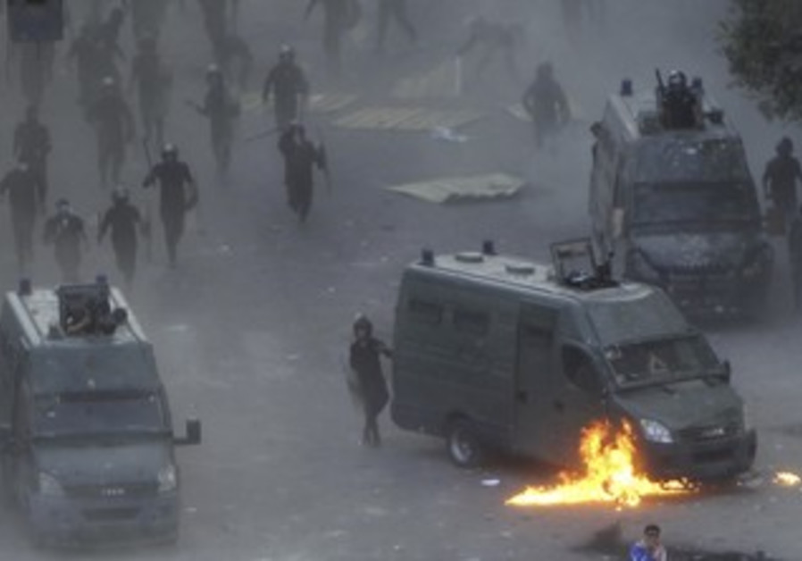 November 23 clashes in Cairo's Tahrir Square