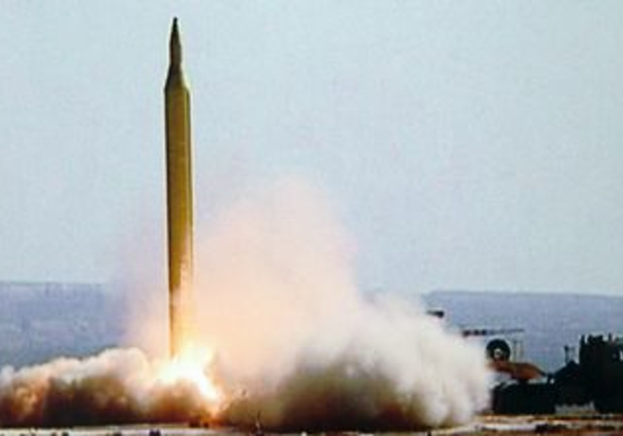 Iran test fires a Fajr-3 missile [file photo]