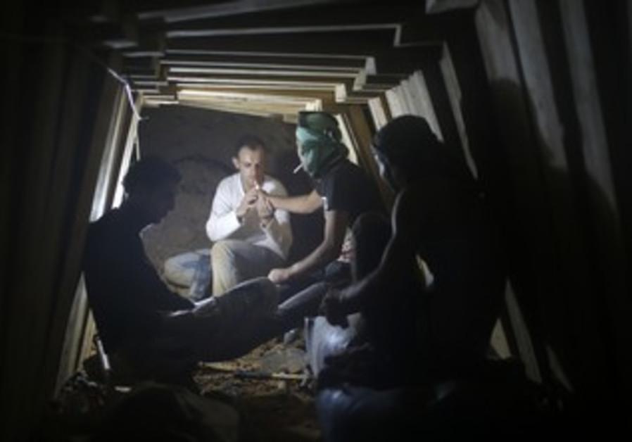 Gaza smuggling tunnel