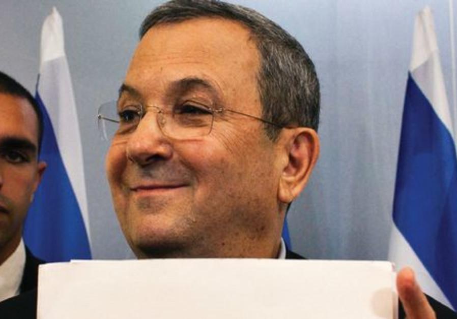 Ehoud Barak annonce son départ