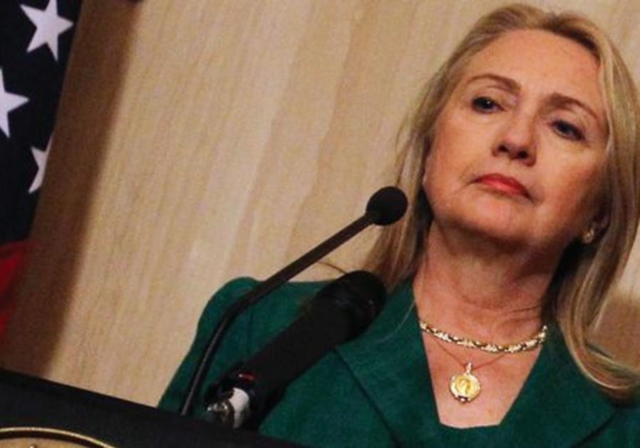 Hillary Clinton, secrétaire d'Etat américaine