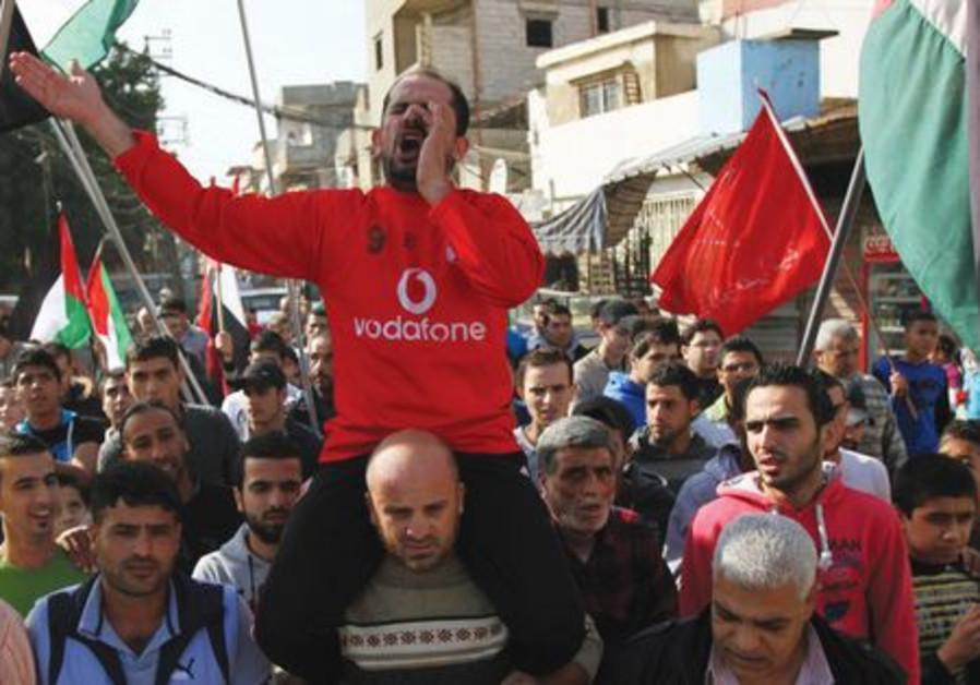 Protestation contre Pilier de défense