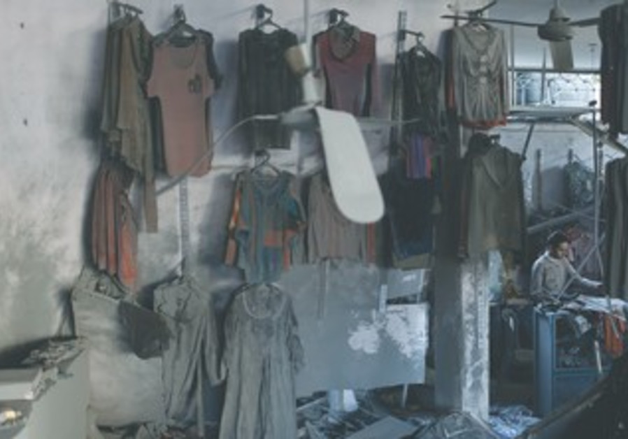 Gaza clothes shop damaged during IAF strike