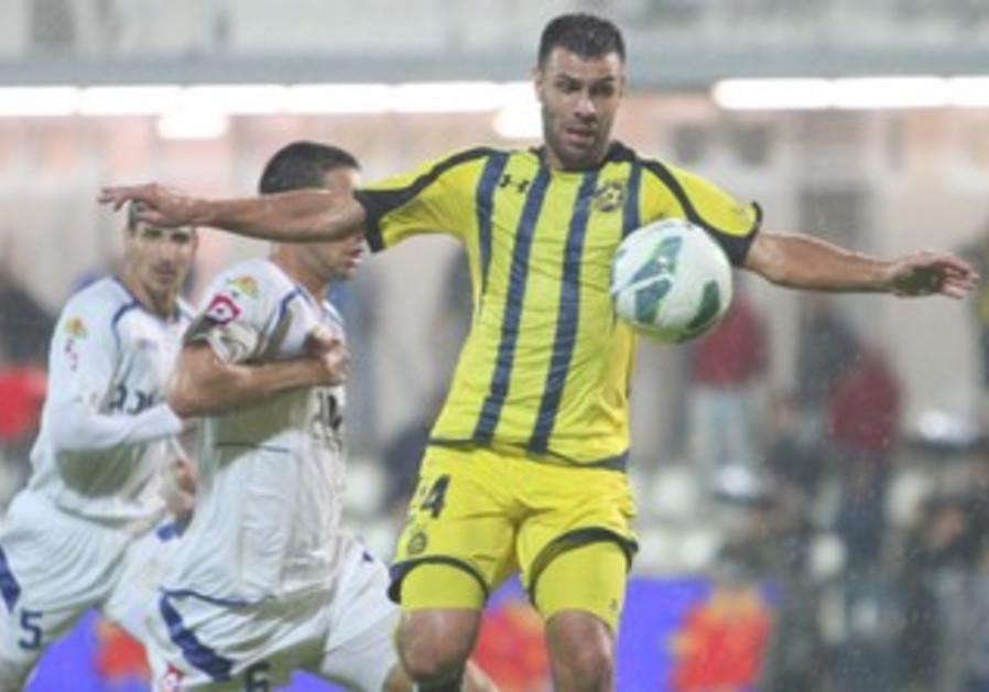 Maccabi Tel Aviv's Roberto Colautti