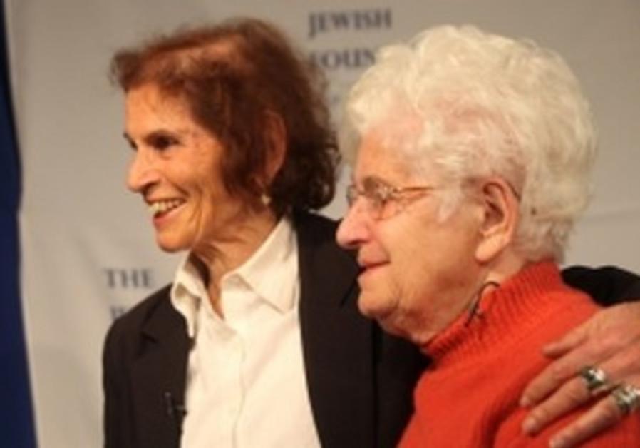 Holocaust survivor reunites with rescuer