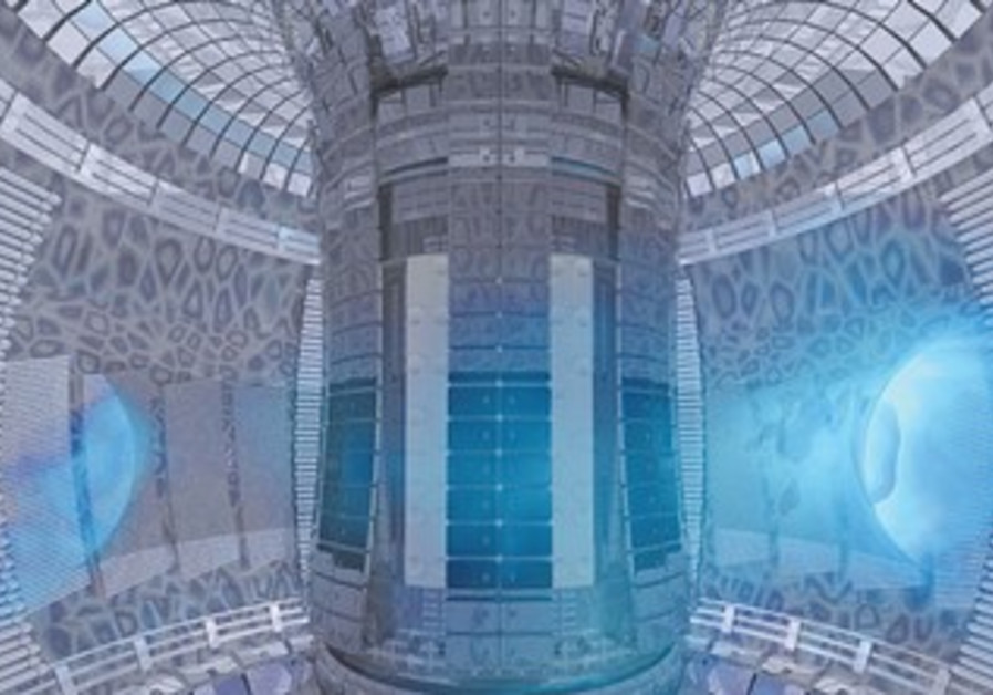 ITER fusion energy experiment.