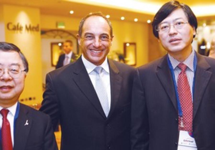 CEO of Lenovo, chairman of Hong Kong real estate.