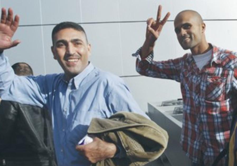 Fatah activists arrive in Gaza