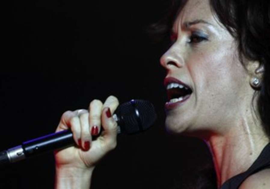 Canadian singer Alanis Morissette performs [file]