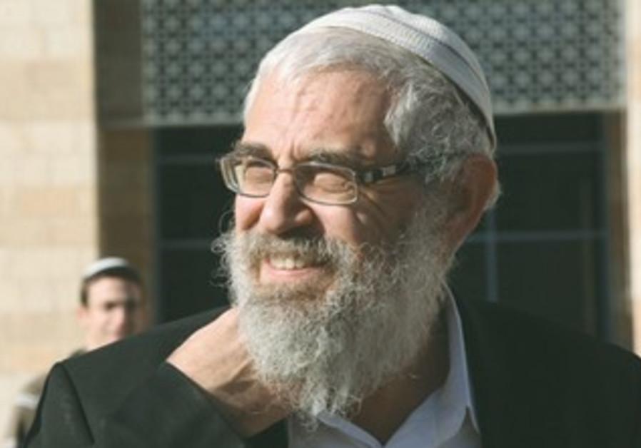 Rabbi Motti Elon.