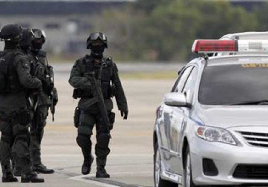 Thai police commados [file photo]