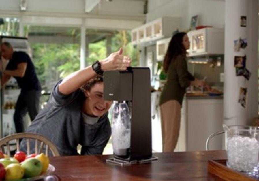 Soda Stream commercial still shot