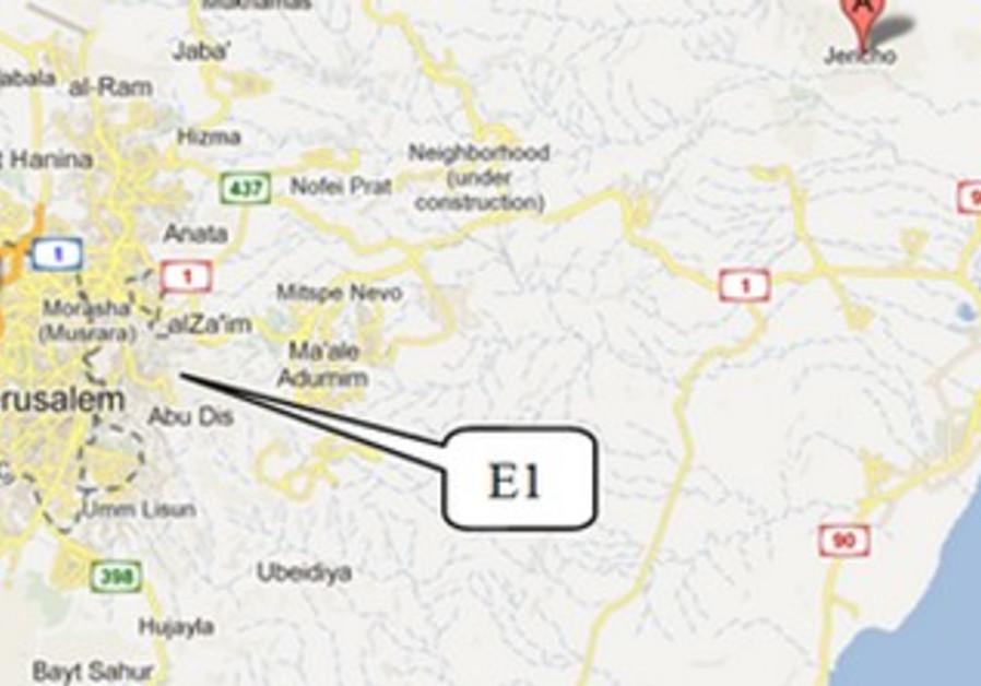 e1 map