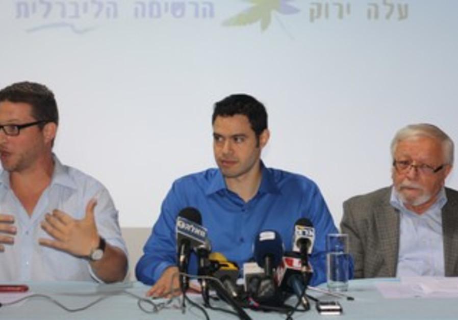 Green Leaf press conference