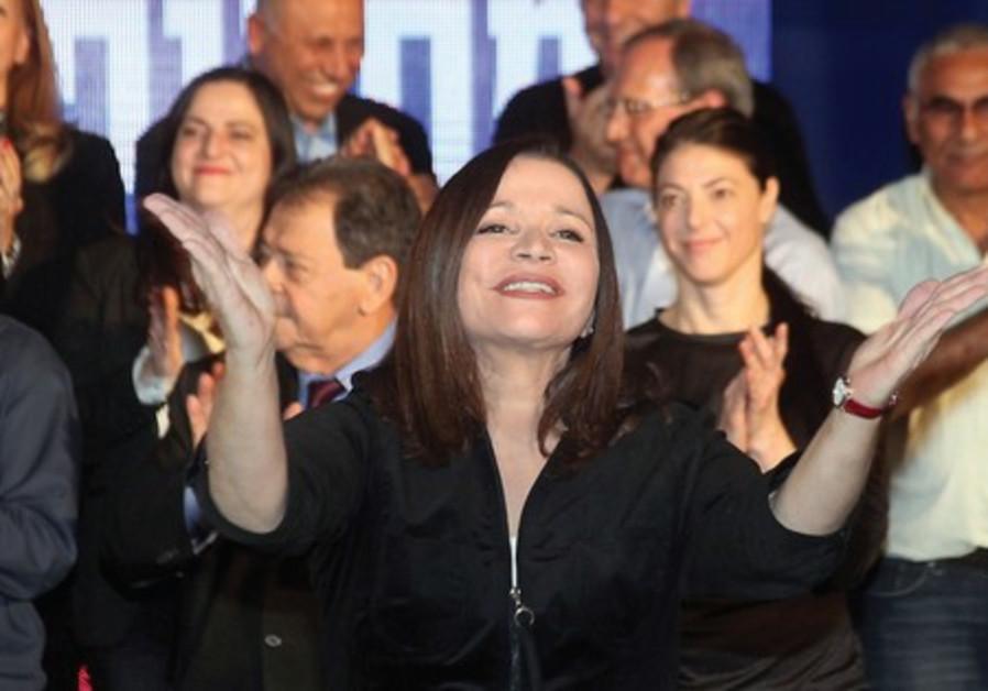 Labor leader Shelly Yacimovich