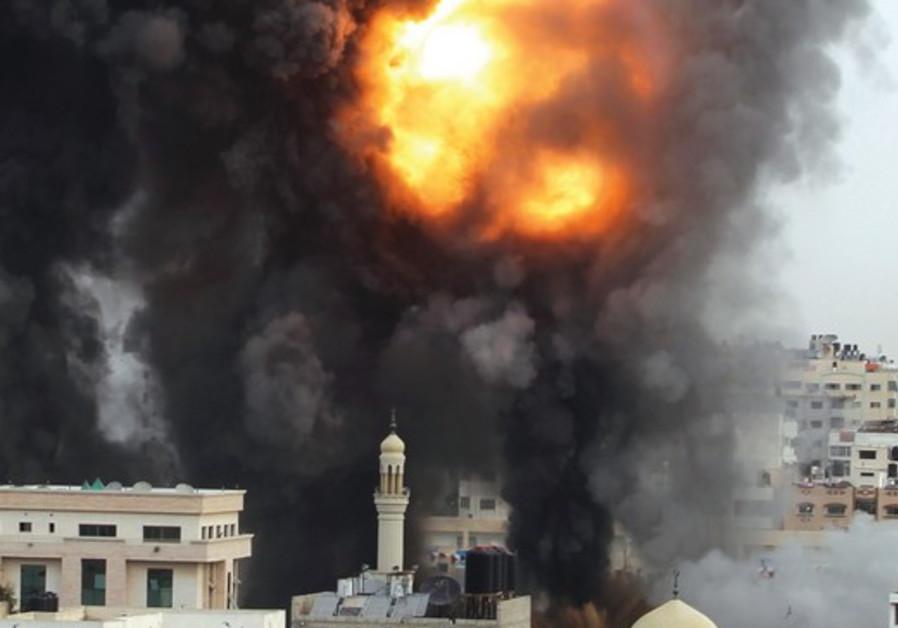Explosion Gaza city