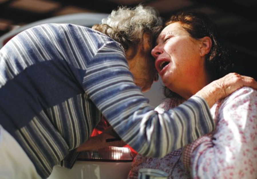 femmes traumatisées à Ashdod