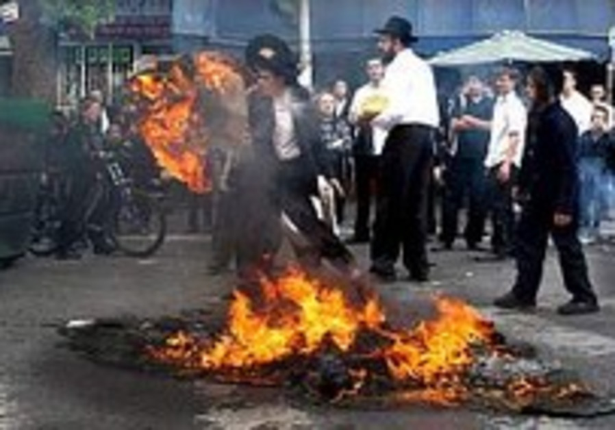 Welfare officials fear haredi riot repercussions