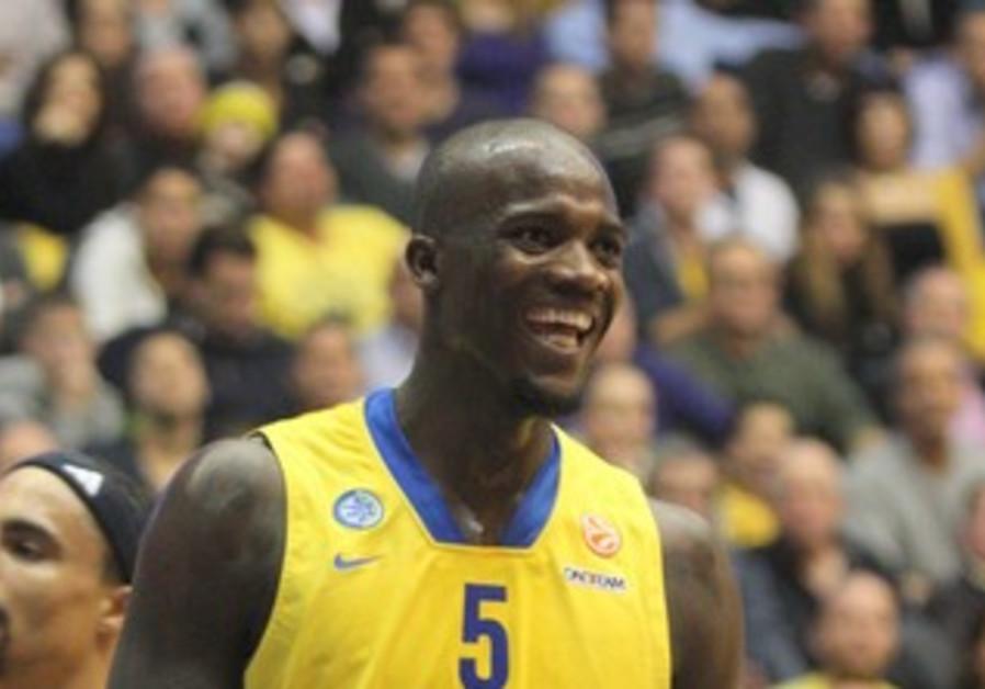 Maccabi Tel Aviv's Shawn James