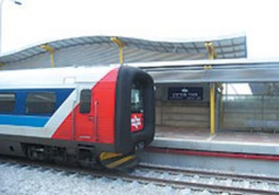 Jerusalem-TA high-speed rail line not on track