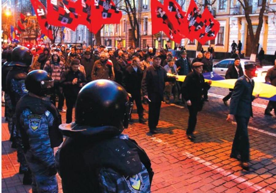 Manifestation de Svoboda