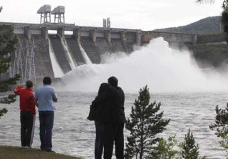 Krasnoyarsk hydroelectric power station