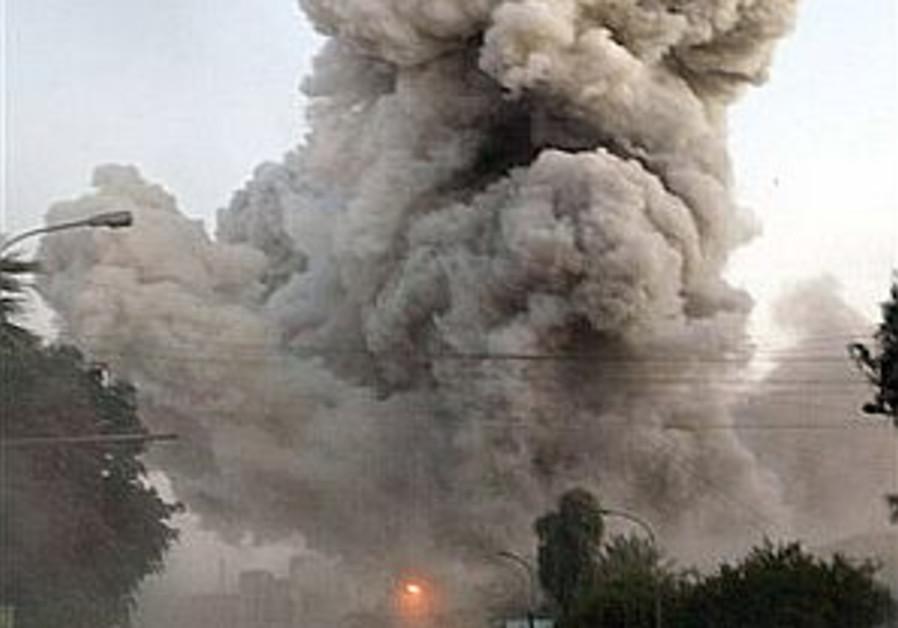 20 dead in Baghdad hotel bombing