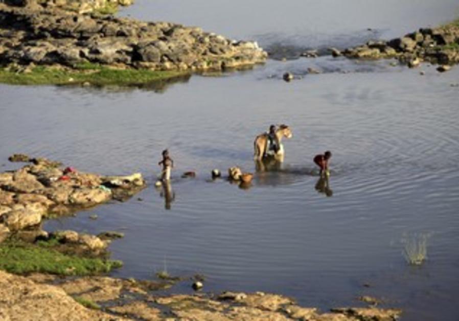 High risk site for sandfly bites in Sudan