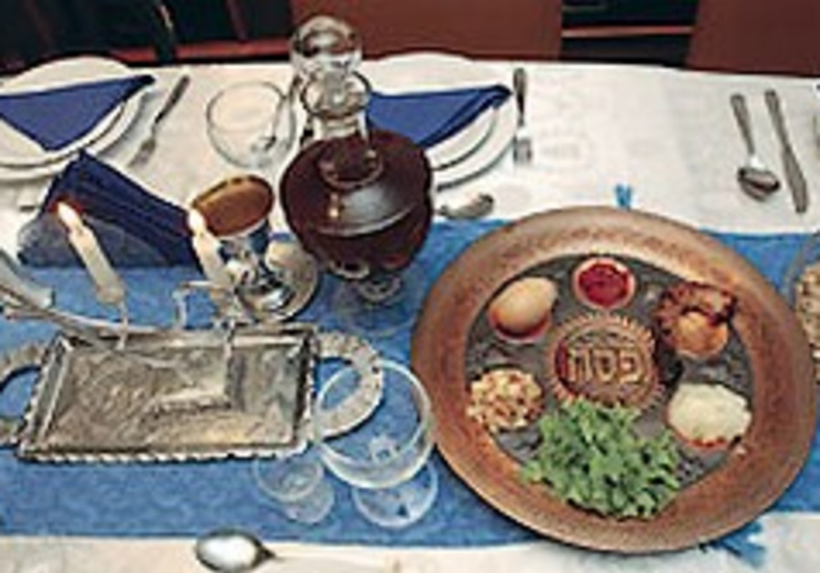 A Seder under siege in Jerusalem