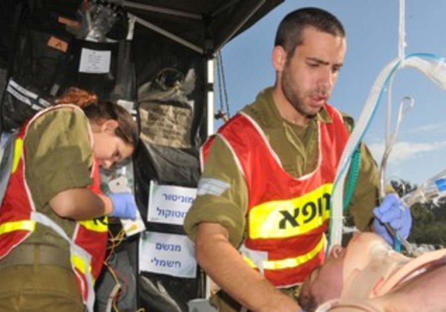 IDF Medical Corpse