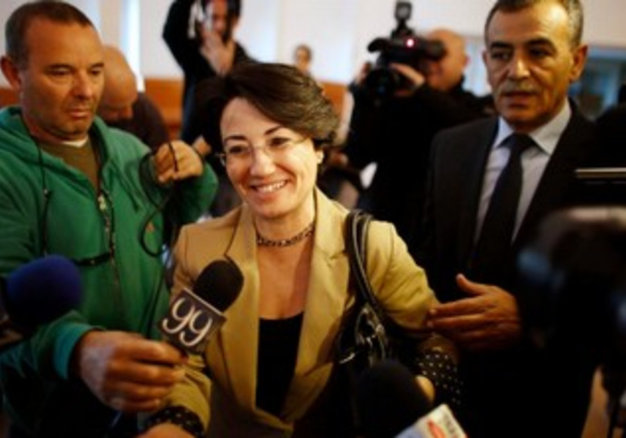 Zoabi arrives at court