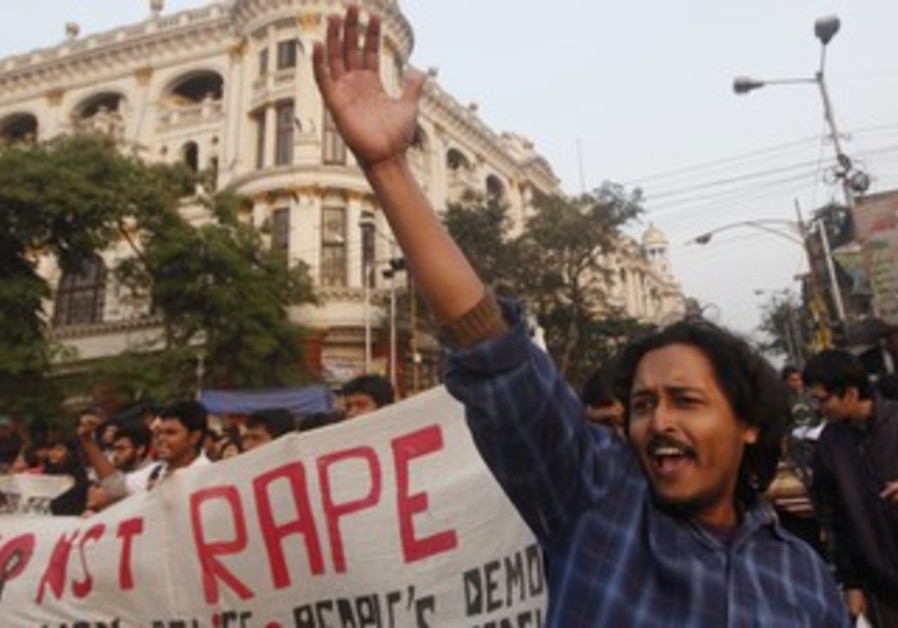 Rally to show solidarity with rape victim in India