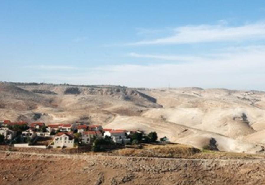 E1 area near Jerusalem.