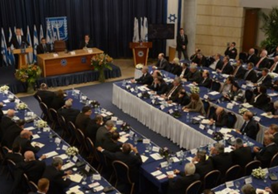 Netanyahu addresses ambassadors in Jerusalem