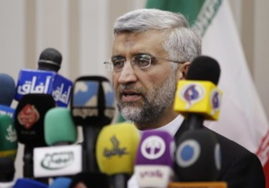 Iranian negotiator Saeed Jalili