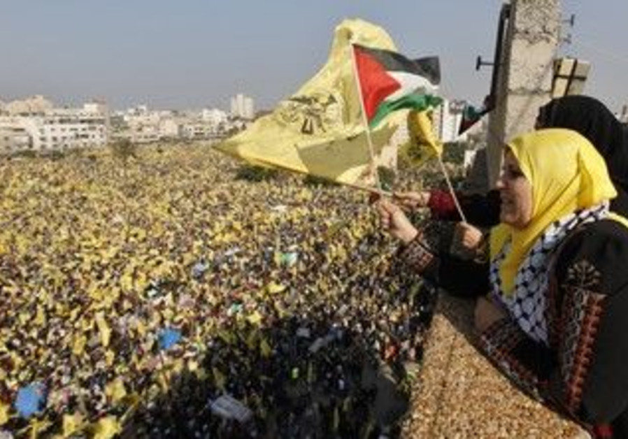 Gazans celebrate Fatah's 48th anniversary
