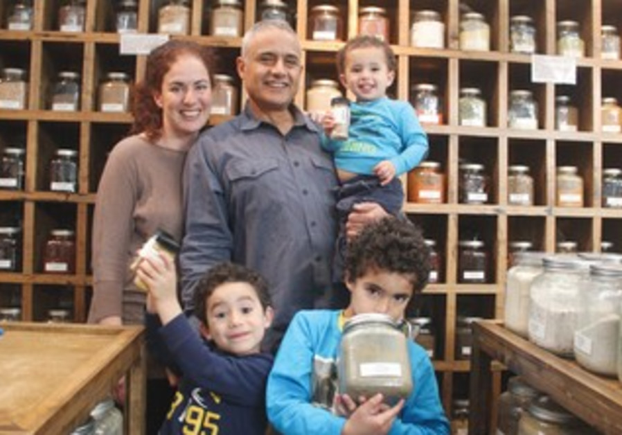 Shuli and Ronit Madmone owners of Whole Spice.