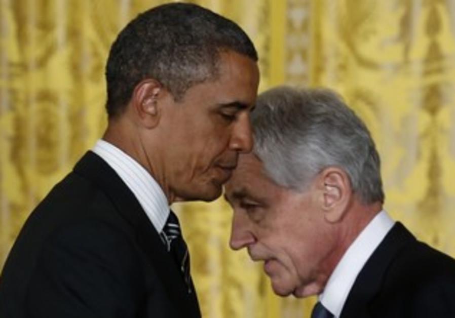 Obama nominates Chuck Hagel for defense secretary