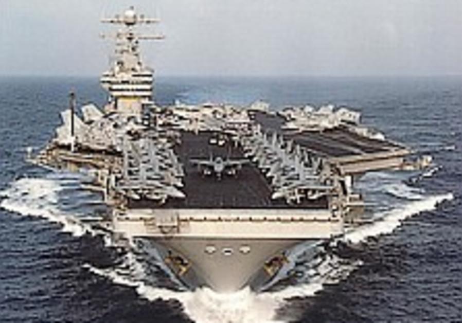 US aircraft carrier 298 ap