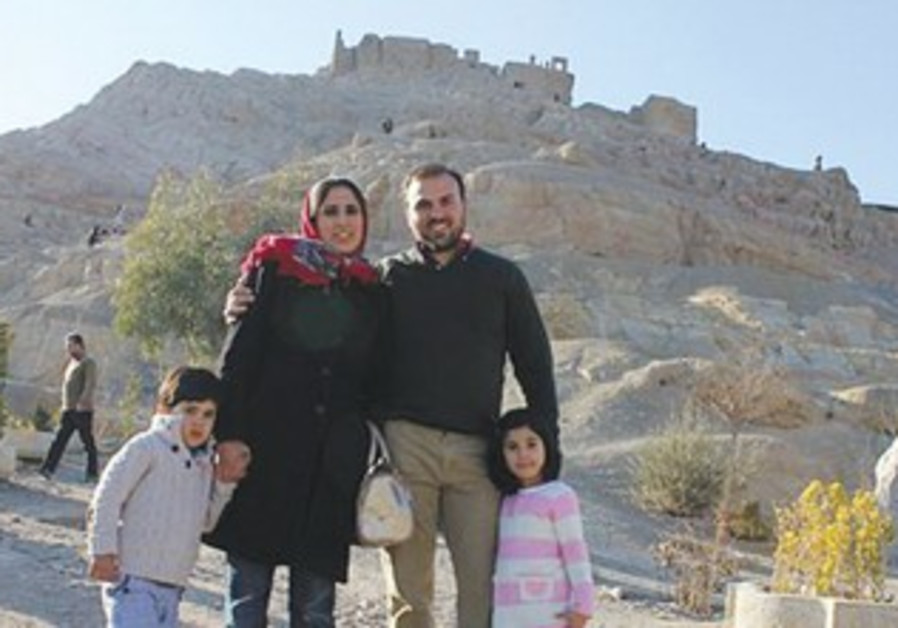 American-Iranian Pastor Saeed Abedini with family