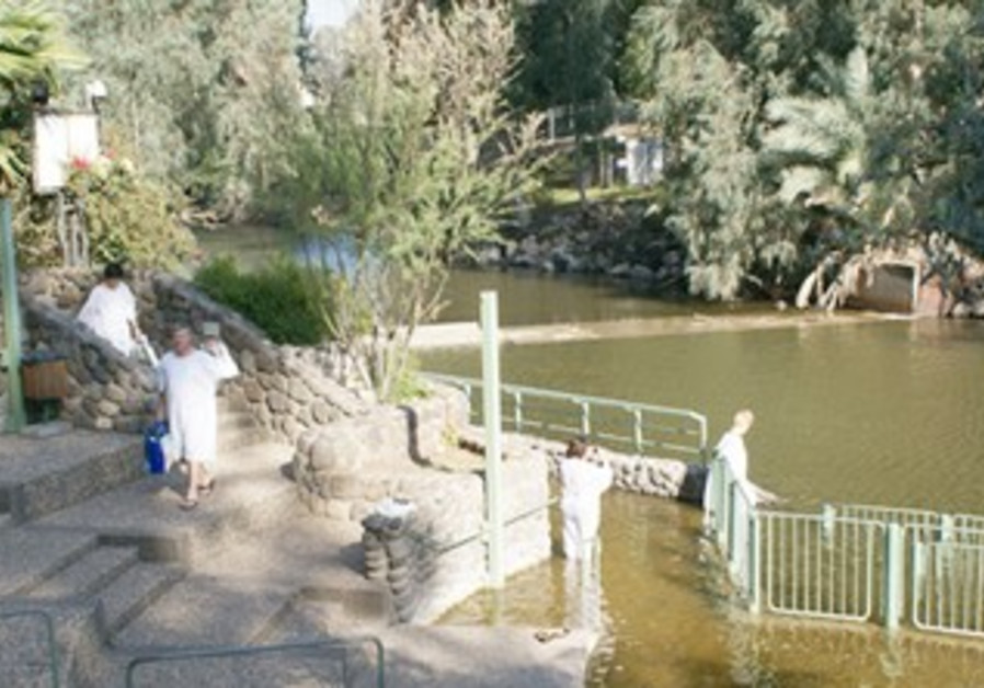 72ea5d02421648 Jesus and the Jordan River - Travel - Jerusalem Post