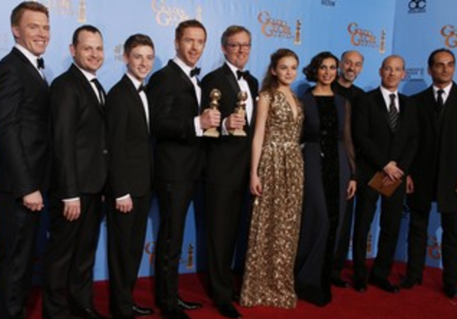 Homeland cast and creators at the Golden Globes.