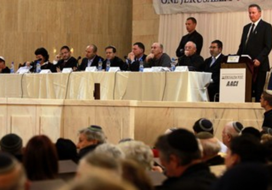 JPost election debate in Jerusalem